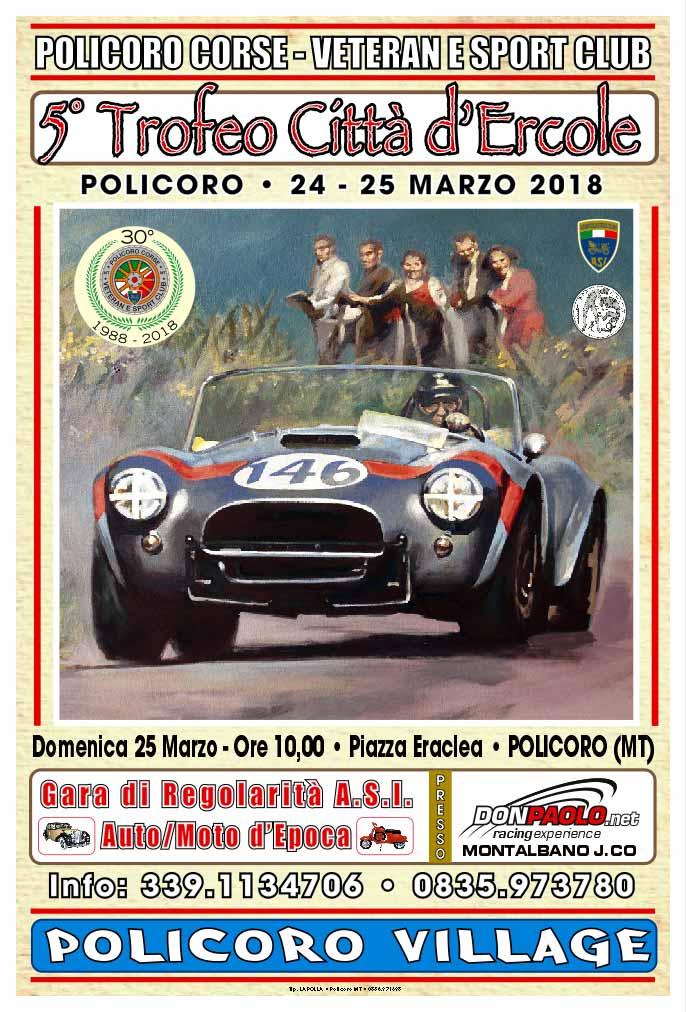 5° Trofeo Città d'Ercole: il 24 e 25 marzo a Policoro