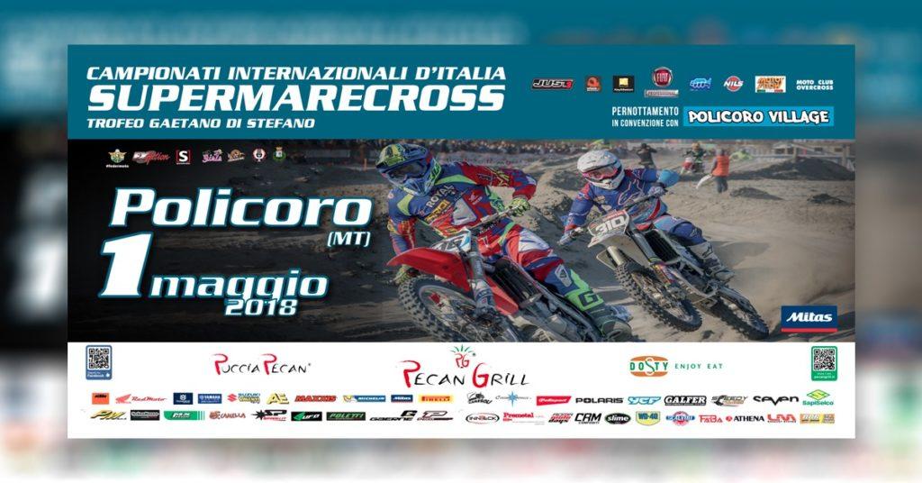 Il 1° maggio ritorna Supermarecross: prenota al Policoro Village