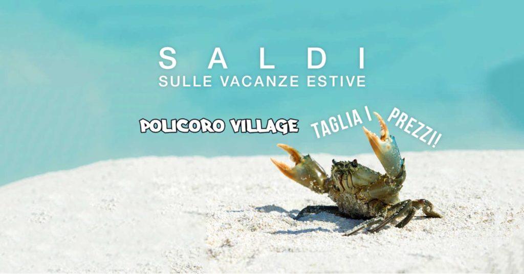 """Saldi sulle vacanze estive: Policoro Village """"taglia i prezzi!"""