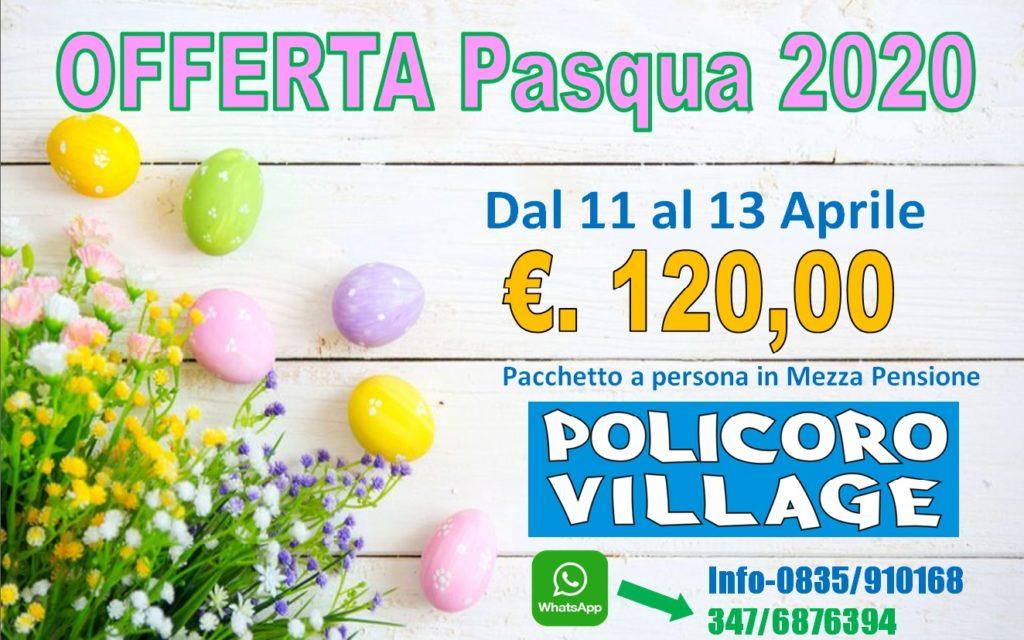 Offerta Pasqua 2020: 120 euro a persona